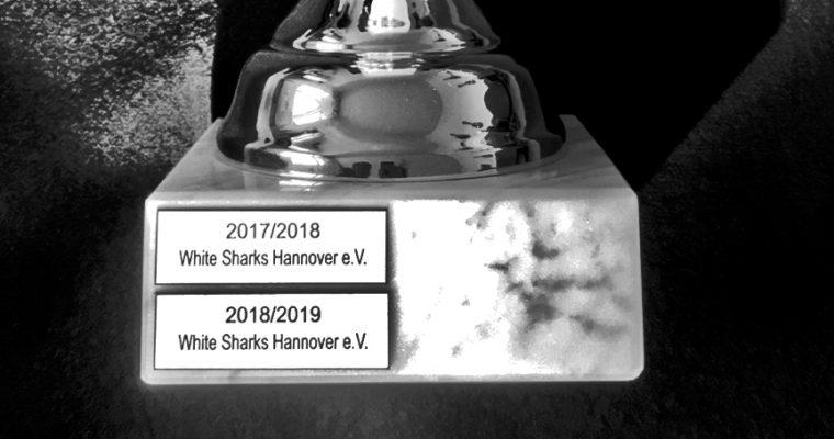 U18 der White-Sharks gewinnt Deutsche Meisterschaft der U18 Bundesliga 2019