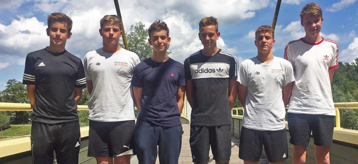 U15 Natio Kader mit 6 White Sharks Spielern