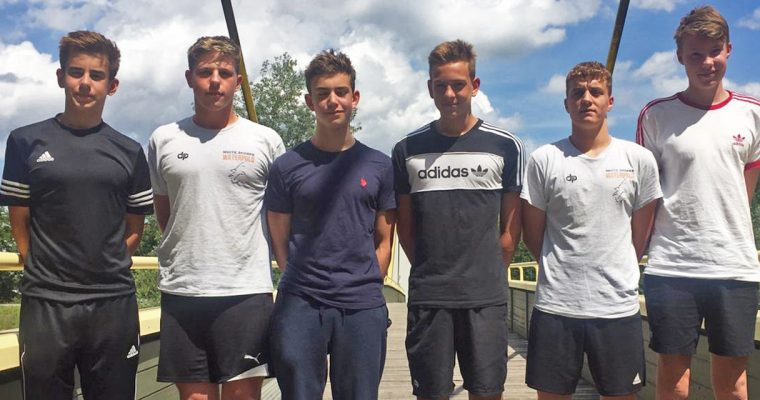 U15 Natio Kader mit 6 White Sharks Spielern