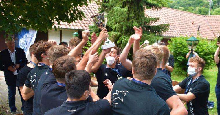 Frank Glaubitz berichtet: White Sharks U18 sind wieder deutscher Meister