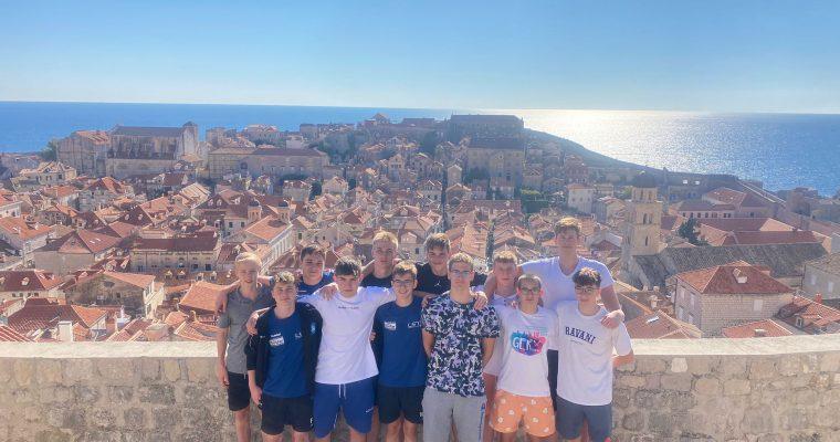 Trainingslager U16 in Dubrovnik vom 14.10.21 bis 21.10.21